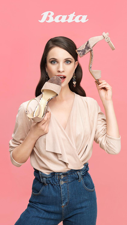 Cartello campagna Adv BATA - MC Studios - Fashion E-commerce